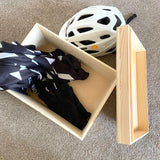 Personalised Road Bike Cycling Wooden Storage Box