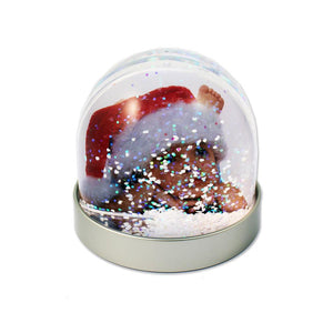 Personalised Christmas Photo Snow Globe