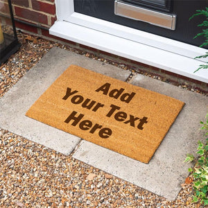 Personalised Custom Text Door Mat