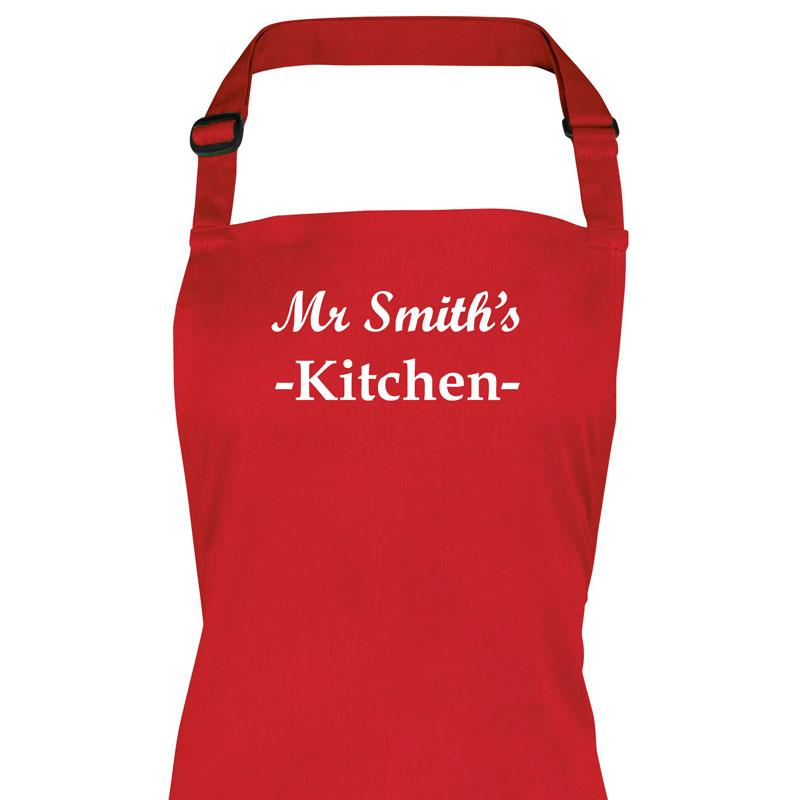 Personalised Embroidered Apron Apron Always Personal