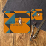 "Personalised Owl ""Its Been A Hoot"" Rectangular Place Mat"