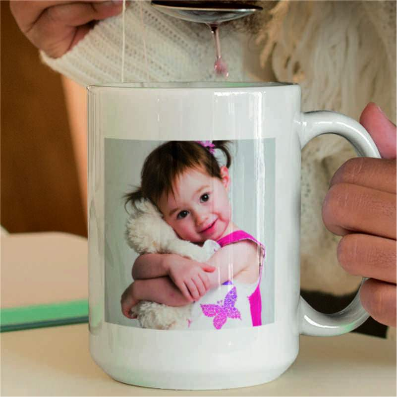 Personalised Large Photo Mug (15oz)