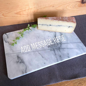 Personalised Marble Chopping or Serving Board Any Message