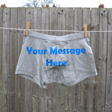 Personalised Boxer Shorts Pants Always Personal