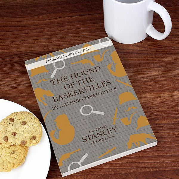Personalised Hound of the Baskervilles Novel - 6 Characters