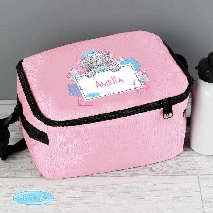 Personalised Me To You Girls Lunch Bag Memento