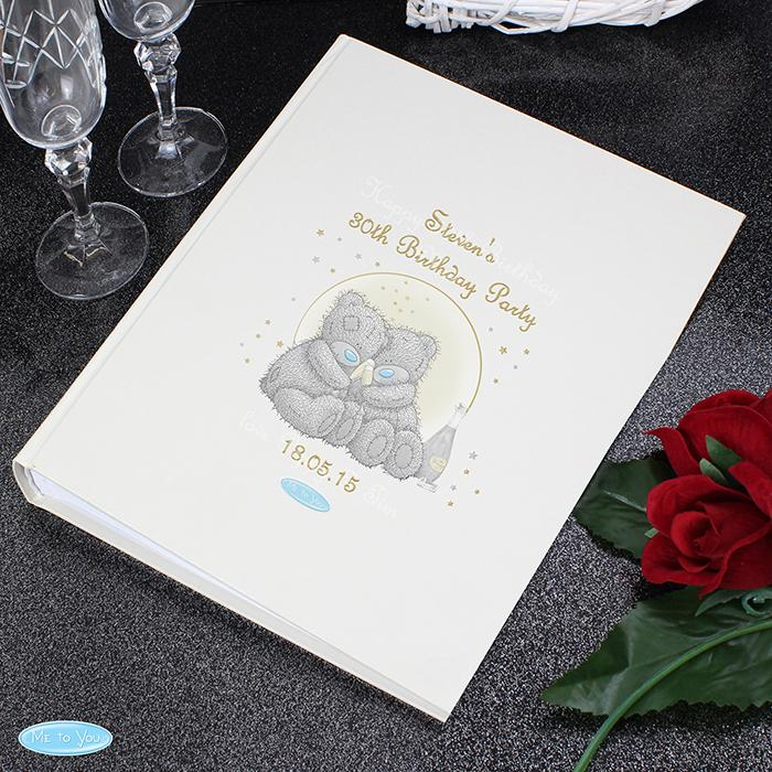 Personalised Me To You Gold Stars Album with Sleeves Book Memento