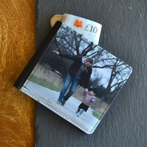 Personalised Photo Leather Look Wallet