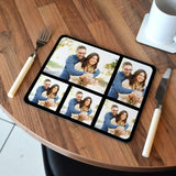 Personalised Photo Collage Placemat Rectangle