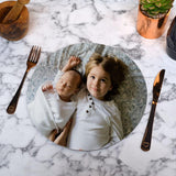 Personalised Round Photo Placemat