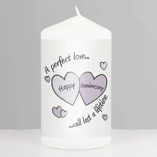 Perfect Love Anniversary Candle