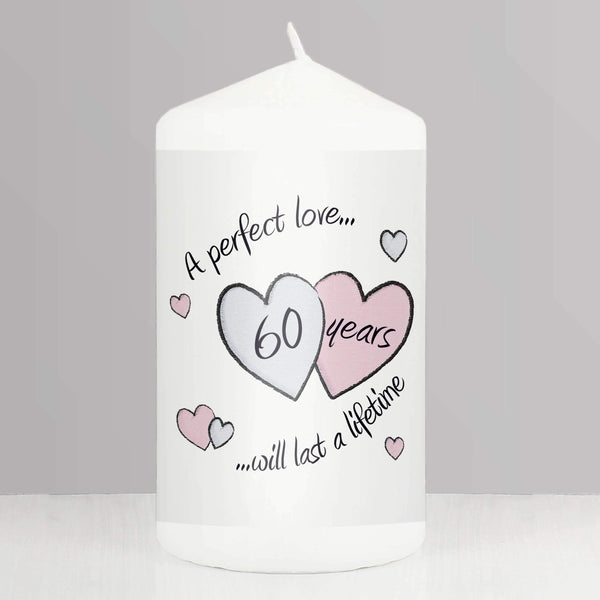 Perfect Love Diamond Anniversary Candle