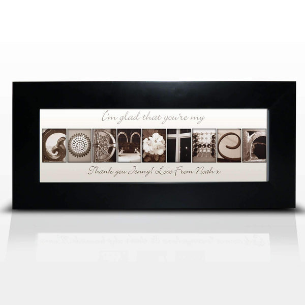 Personalised Affection Art Godmother Small Frame