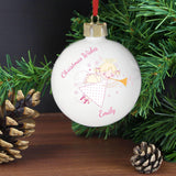 Personalised Angel Bauble