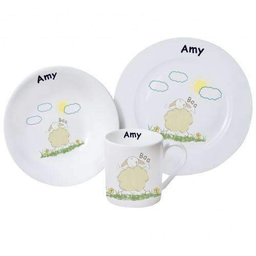 Personalised Baa Breakfast set
