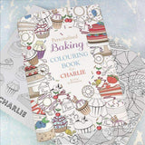 Personalised Baking Colouring Book