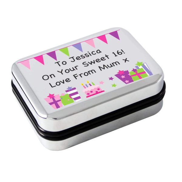 Personalised Birthday Presents Necklace Box
