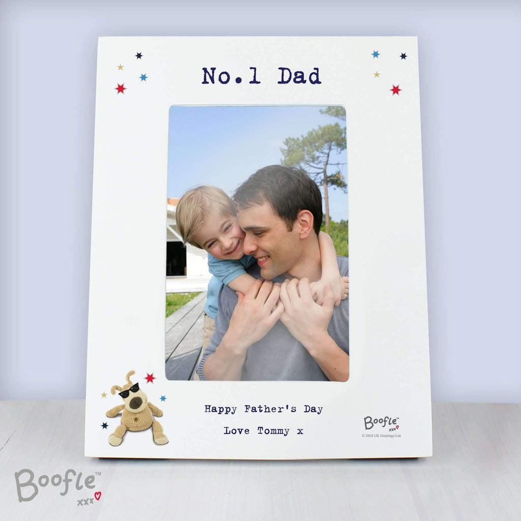 Personalised Boofle Stars 4x6 Photo Frame Memento
