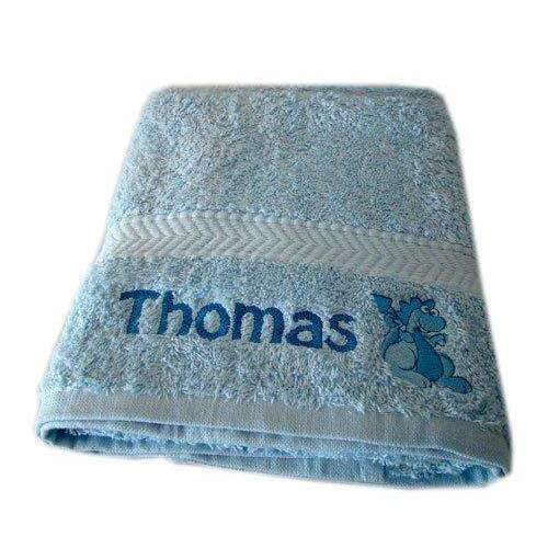 Personalised Embroidered Children's Bath Towel