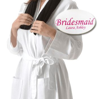 Personalised Embroidered Waffle Towelling Robe Towelling Robe Always Personal