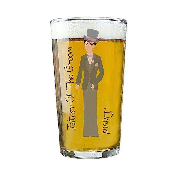 Personalised Fabulous Male Pint Glass