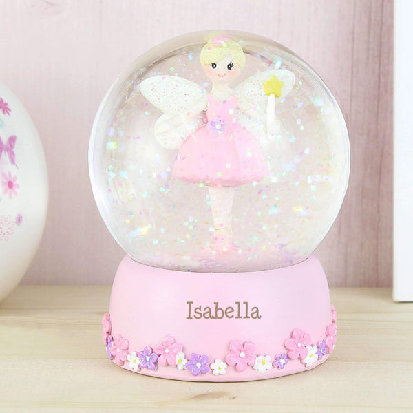 Personalised Fairy Any Name Snow Globe