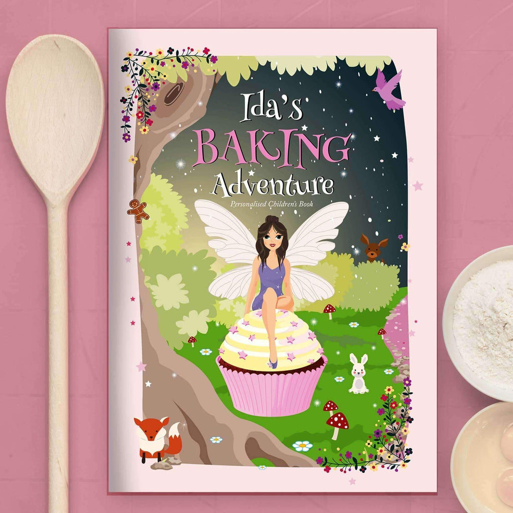 Personalised Fairy Baking Adventure Book
