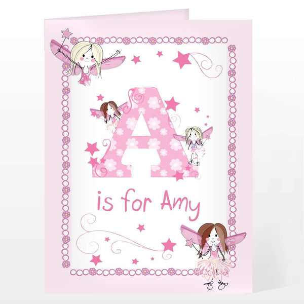 Personalised Fairy Card