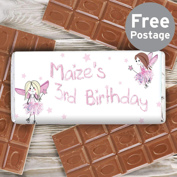 Personalised Fairy Milk Chocolate Bar