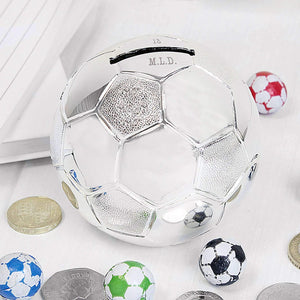 Personalised Football Money Box