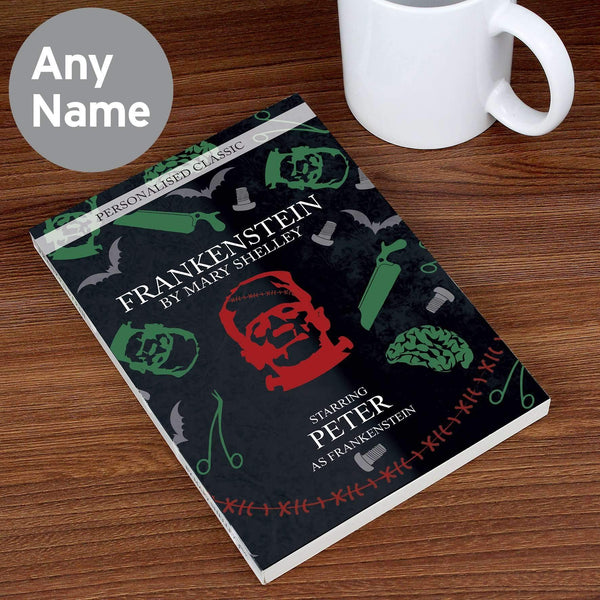 Personalised Frankenstein Novel - 6 Characters