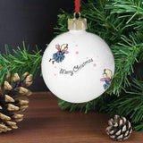 Personalised Funky Fairy Bauble Memento