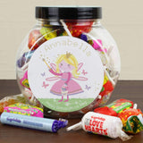 Personalised Garden Fairy Sweets Jar Memento