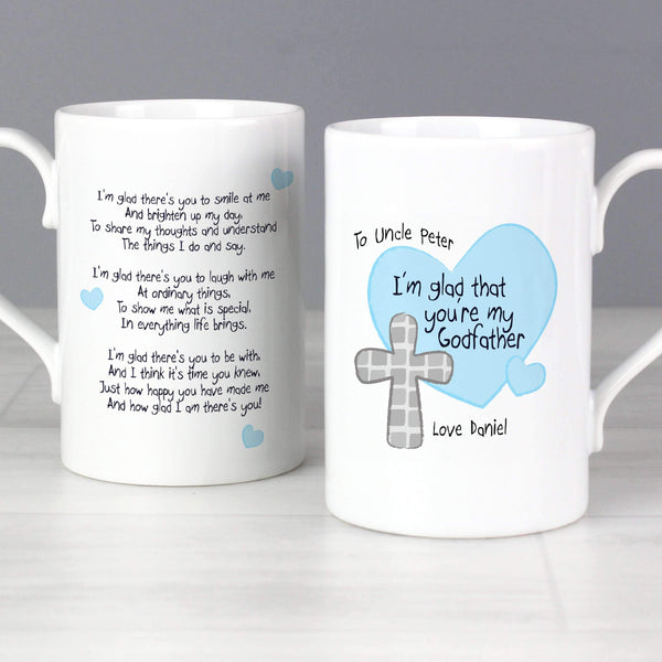 Personalised Godfather Slim Mug