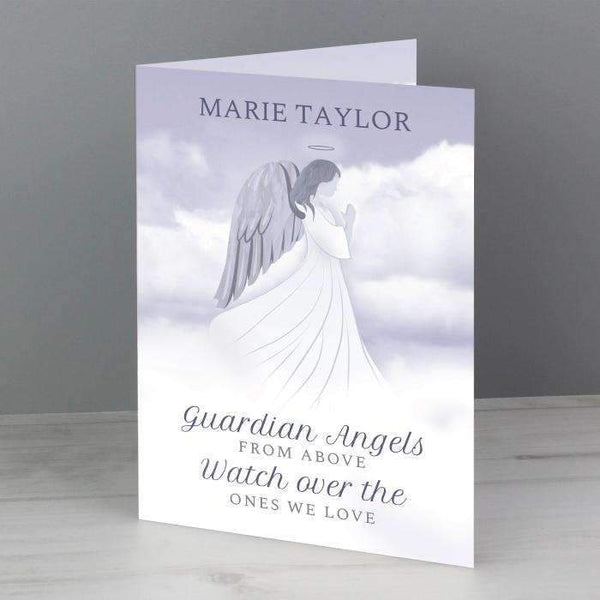Personalised Guardian Angel Card