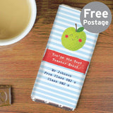 Personalised Happy Apple Milk Chocolate Bar