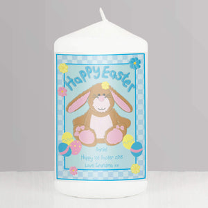 Personalised Happy Easter Bunny Candle