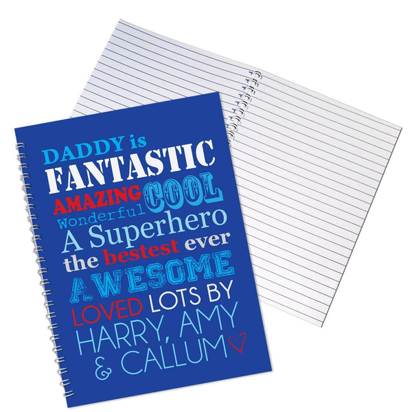 Personalised He Is....A5 Notebook