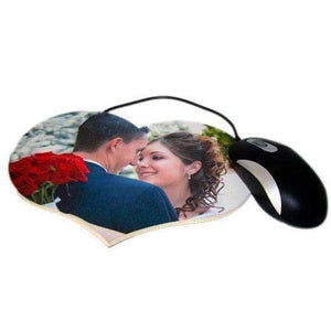 Personalised Heart Photo Mousemat