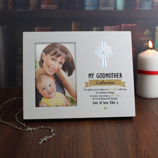 Personalised Im Glad 4x6 Light Up Frame