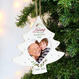 Personalised In Loving Memory Tree Photo Frame Decoration