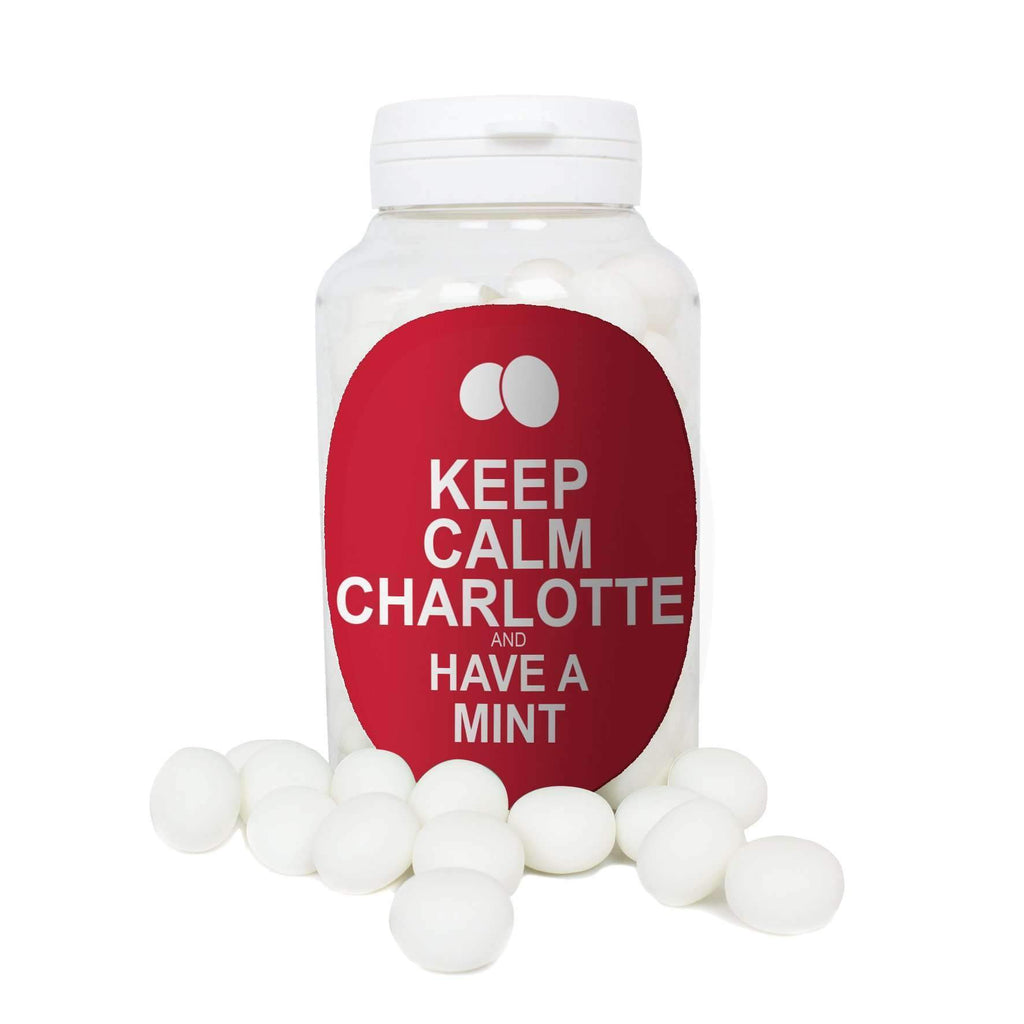 Personalised Keep Calm Mints