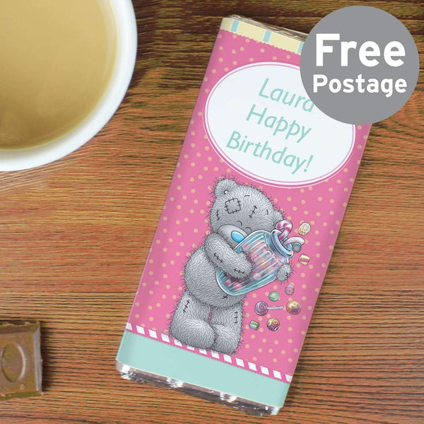 Personalised Me to You Candy Girl Milk Chocolate Bar