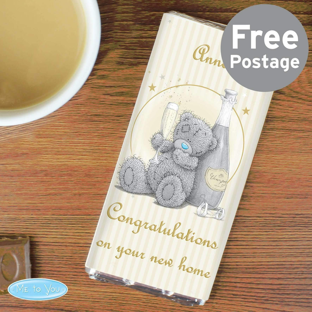 Personalised Me To You Gold Stars Milk Chocolate Bar