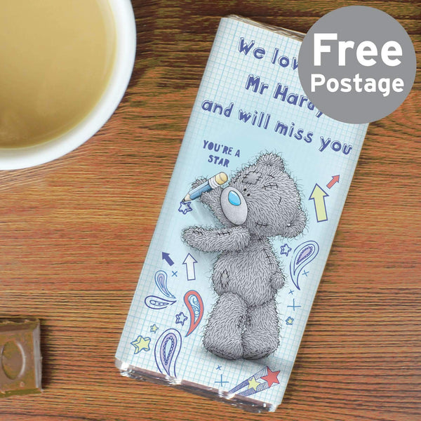 Personalised Me to You Teacher Milk Chocolate Bar