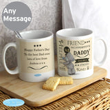 Personalised Me To You Typographic Mug