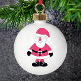 Personalised New Santa Bauble