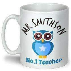 Personalised Owl Teacher Mug
