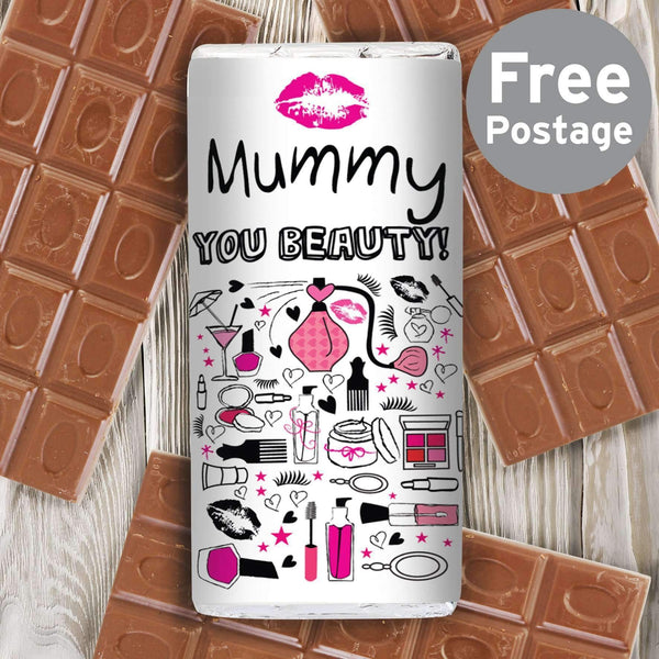 Personalised Pamper Milk Chocolate Bar