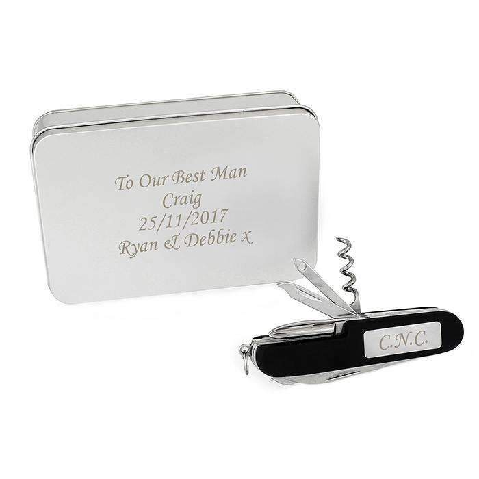 Personalised Pen Knife and Box Set Memento